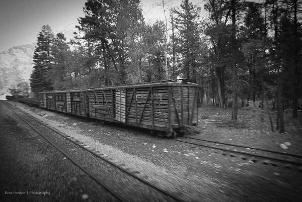 Photograph - Abandoned Rolling Stock by Ross Henton
