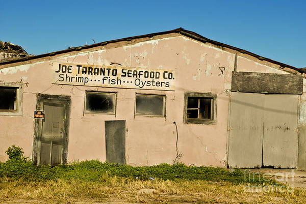Grayton Beach Photograph - Abandoned Seafood Shack by YJ Kostal