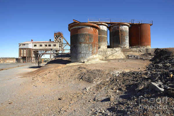 Mine Photograph - Abandoned Silver Mine by Bill  Robinson