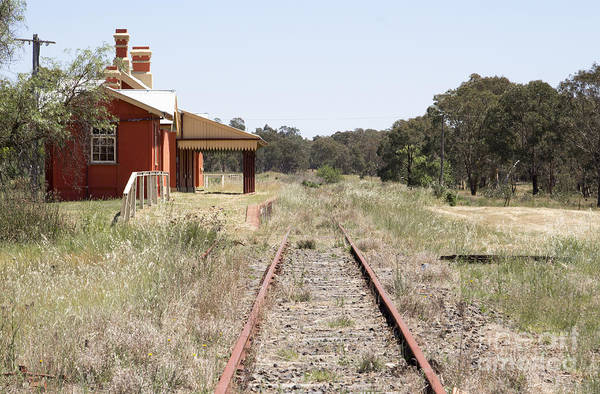 Photograph - Abandoned Station by Nicholas Blackwell