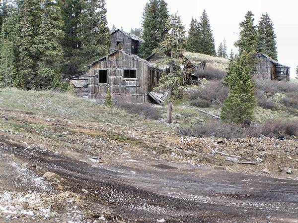 Wall Art - Photograph - Abandoned Summitville Gold Mine Site by Dana Carroll