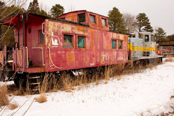 Photograph - Abandoned Trains by Kristia Adams