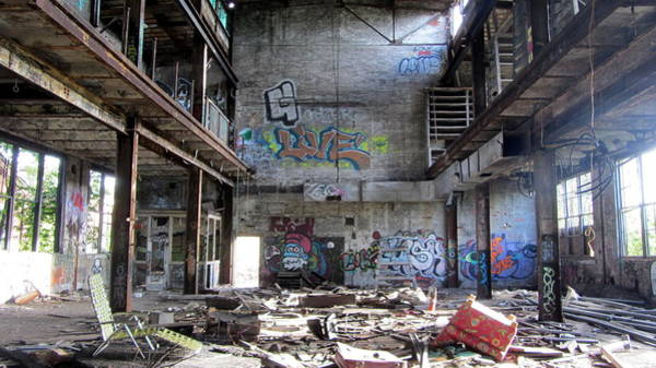 Photograph - Abandoned Warehouse 1 by Anita Burgermeister
