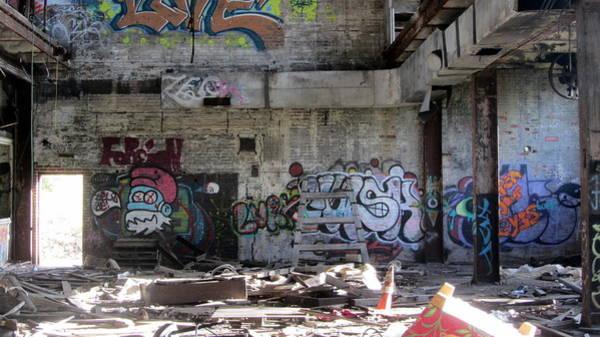Photograph - Abandoned Warehouse 3 by Anita Burgermeister