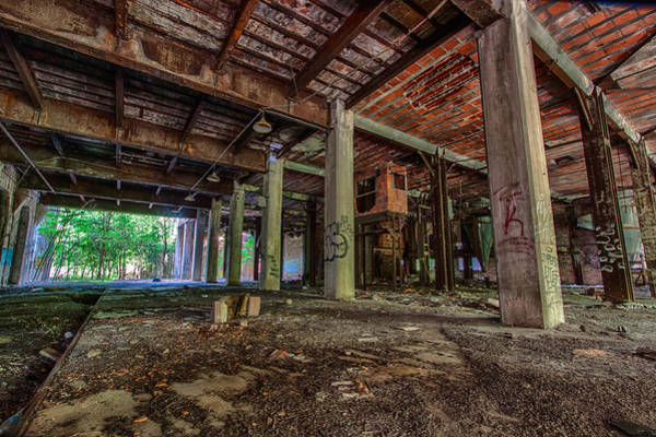 Crumble Photograph - Abandoned Warehouse by Mike Burgquist