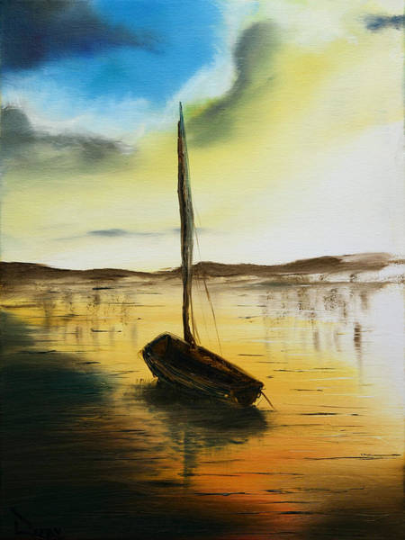 Painting - Abandoned Waters by Rafay Zafer