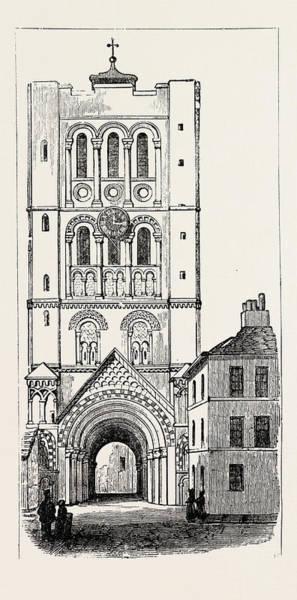 Bury St Edmunds Drawing - Abbey Gate Bury St by English School