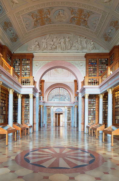 Learning Photograph - Abbey Library, Pannonhalma Abbey by Ian Trower / Robertharding