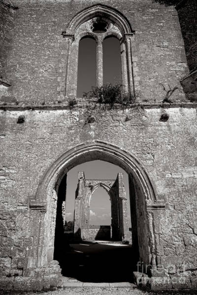 Photograph - Abbey Ruin  by Olivier Le Queinec