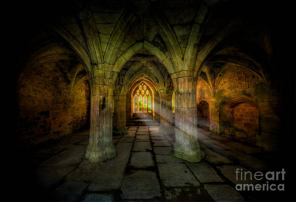 Abbey Photograph - Abbey Sunlight by Adrian Evans