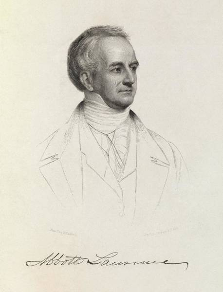 Wall Art - Photograph - Abbott Lawrence by Royal Institution Of Great Britain / Science Photo Library