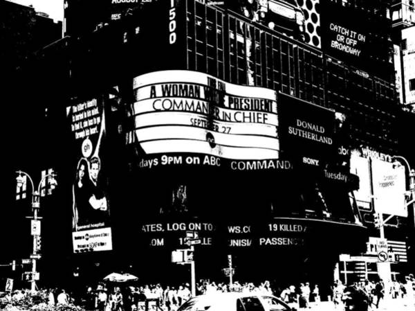 Photograph - Abc Times Square Studio by Cleaster Cotton