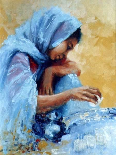 Acrilic Painting - Abdala by Zaafra David