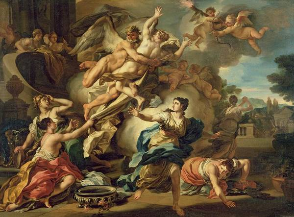 Abduction Painting - Abduction Of Orithyia by Francesco Solimen