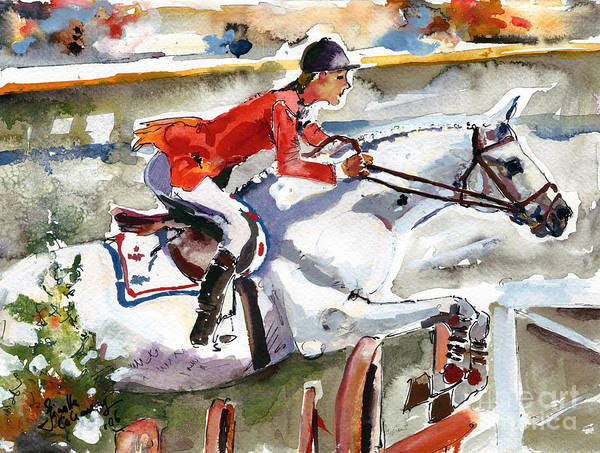 Painting - Abdullah Von Donauwind 1984 by Ginette Callaway