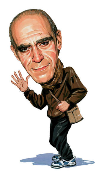 Wall Art - Painting - Abe Vigoda by Art
