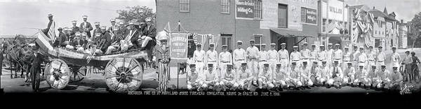Wall Art - Photograph - Aberdeen Fire Company At Maryland State by Fred Schutz Collection
