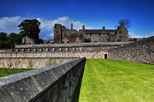 Photograph - Aberdour Castle by Mike Farslow