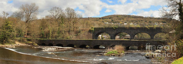 Photograph - Aberdulais Aquaduct In Wales by Paul Cowan