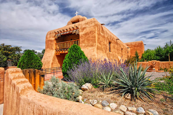 Photograph - Abiquiu Mission Church by Ghostwinds Photography