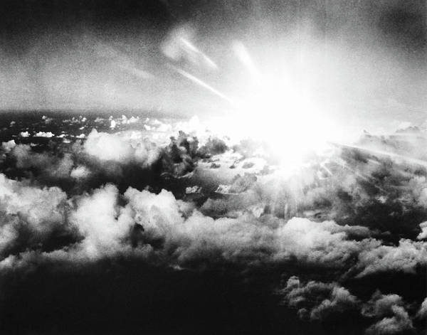 Crossroads Photograph - Able Day Atom Bomb Test by Us National Archives