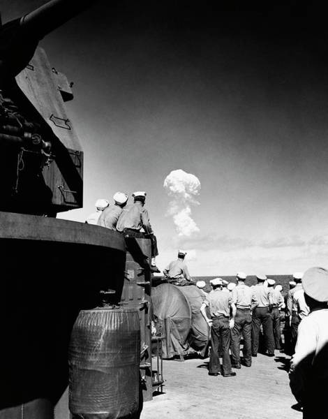 Crossroads Photograph - Able Day Atom Bomb Test by Us Navy