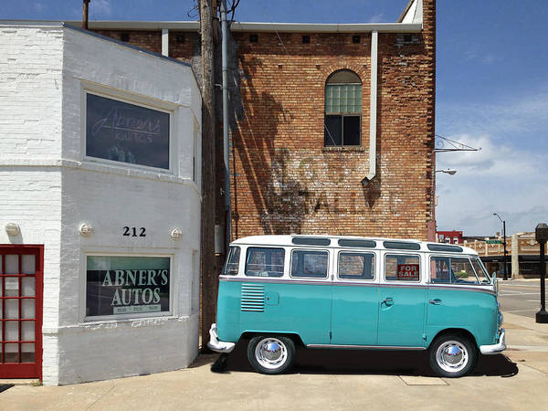 Photograph - Abner's Autos by Rod Seel