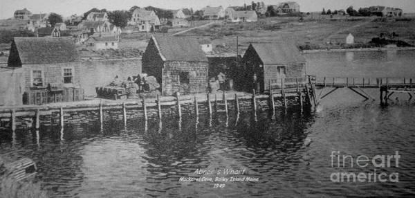 Bailey's Beach Photograph - Abner's Wharf by Donnie Freeman