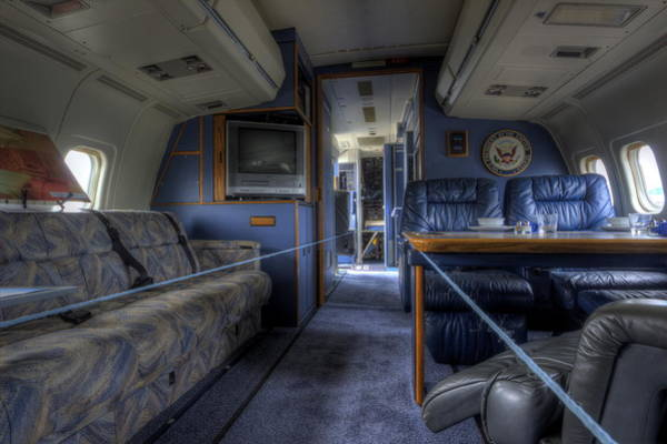 Photograph - Aboard Air Force Two by David Dufresne