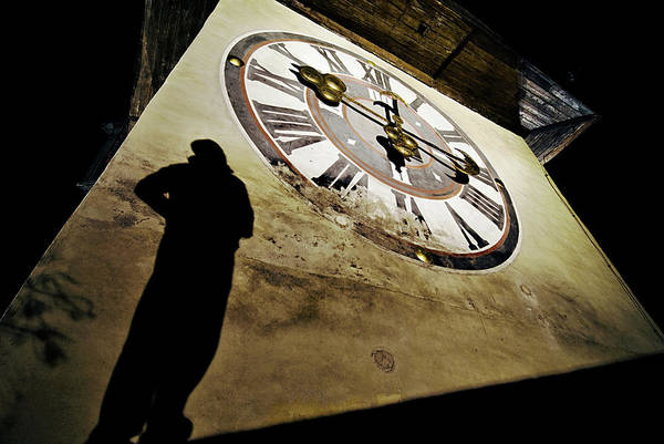 Clock Wall Art - Photograph - About Time by Dragan Jovancevic