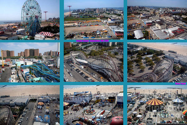 Photograph - Above Coney Island by Steven Spak