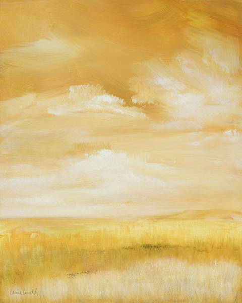 Wall Art - Painting - Above Golden Plains I by Lanie Loreth