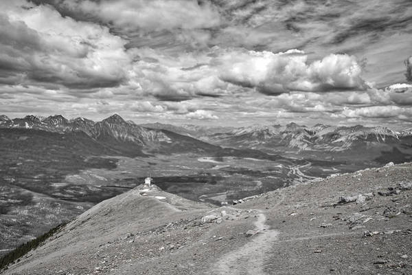 Photograph - Above Jasper - Black And White by Stuart Litoff