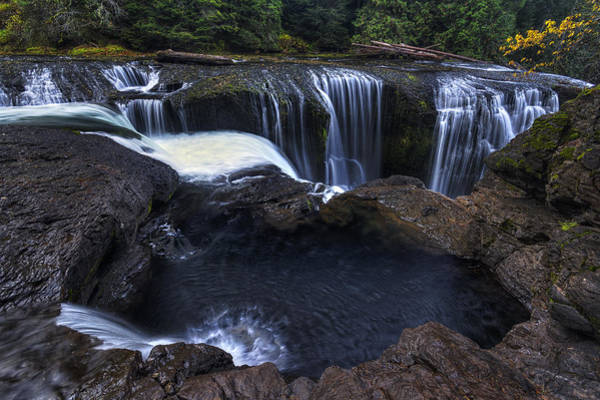 Photograph - Above Lower Lewis Falls 2 by Mark Kiver