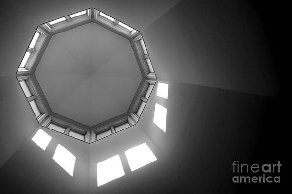 Photograph - Above by Olivier Le Queinec