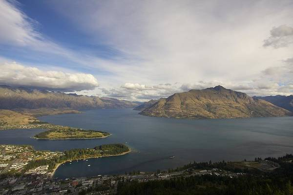 Photograph - Above Queenstown #2 by Stuart Litoff