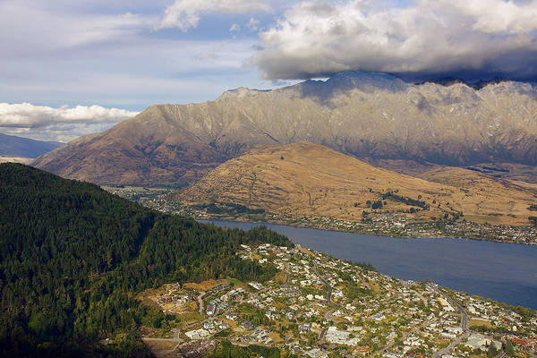 Photograph - Above Queenstown #3 by Stuart Litoff