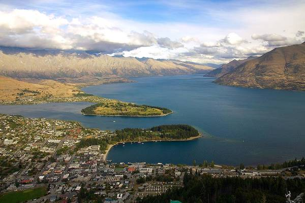 Photograph - Above Queenstown by Stuart Litoff