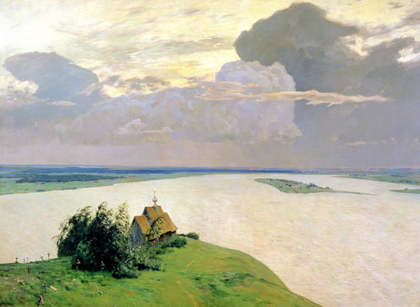 Russian River Painting - Above The Eternal Peace by Isaak Ilyich Levitan
