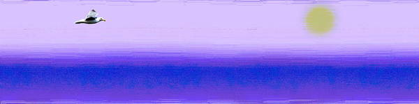 Purple Haze Digital Art - Above The Fray by Tim Allen