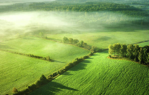 Aerials Photograph - Above The Mist by Keller