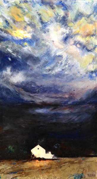 Lights Mixed Media - Above The Storm by Patty Kingsley
