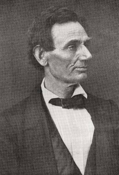 Abe Photograph - Abraham Lincoln, 1860 by American School