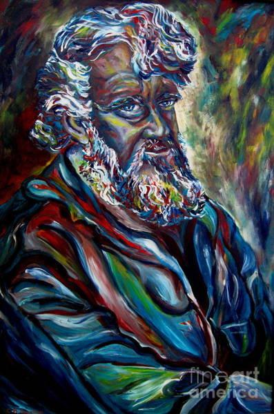 Painting - Abraham  Patriarch by Carole Spandau