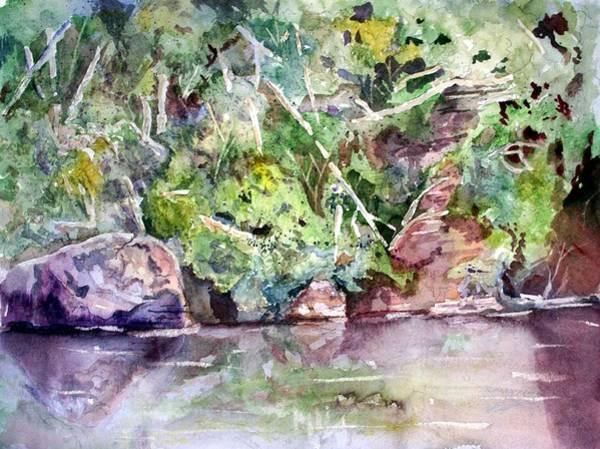 Painting - Abram's Creek by Barry Jones