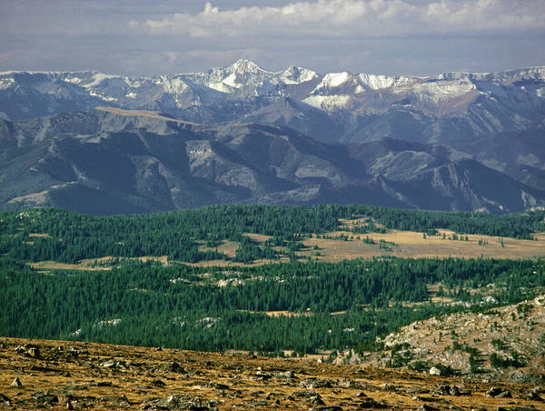 Photograph - M-a9207-absaroka Range From Us 212 by Ed  Cooper Photography