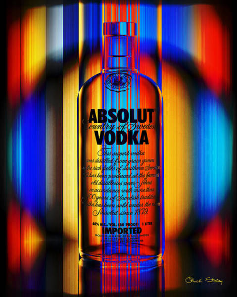 Digital Art - Absolut Abstract by Chuck Staley