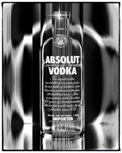 Photograph - Absolut Black And White by Chuck Staley