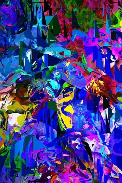 Wall Art - Digital Art - Abstract 010215 by David Lane