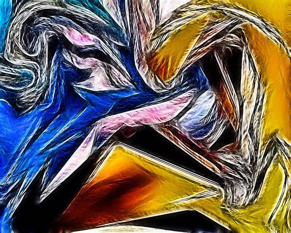 Abstract 016 Art Print